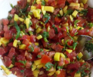 chilli, mango, and spicy image