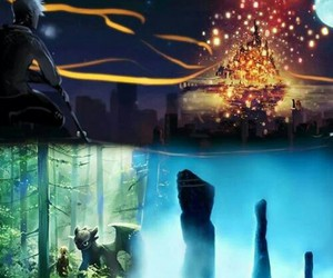 tangled, brave, and how to train your dragon image