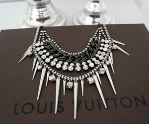 fashion, Louis Vuitton, and necklace image