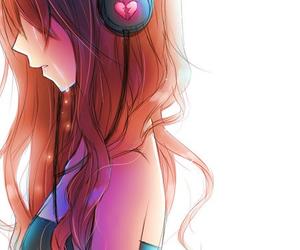 anime, sad, and anime girl image