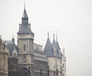 castle, architecture, and vintage image