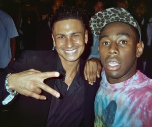 jersey shore, pauly d, and tyler the creator image
