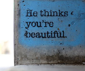 beautiful, quote, and text image