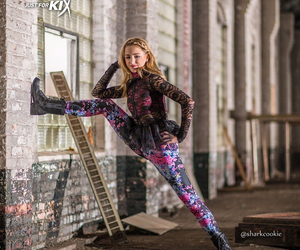 dance, model, and photography image
