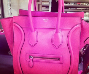 fashion, hotpink, and purse image