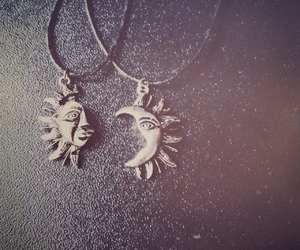 gifts, moon, and necklace image