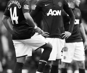 manchester united, chicharito, and mufc image
