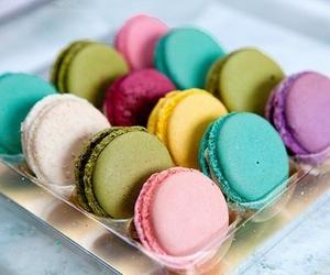 dessert and macarons image
