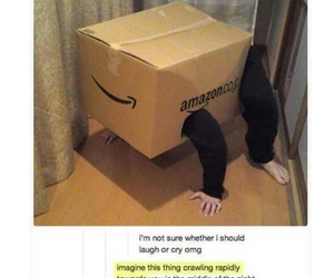 funny, tumblr, and Amazon image