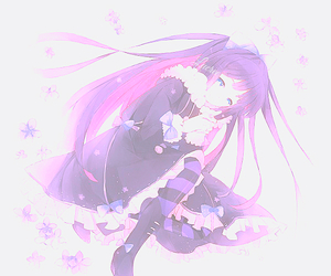 gothic lolita, anarchy, and anime image