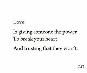 love, break, and broken image
