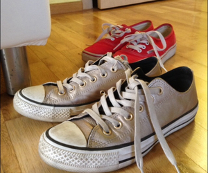 convers, red, and fashion image