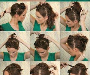amazing, hairstyles, and simple image