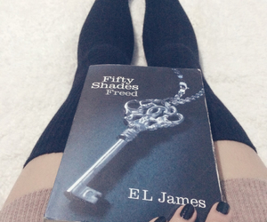 bedroom, fifty shades freed, and book image