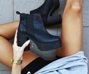 body, boots, and shoes image