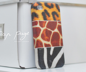 feature, giraff, and leopard image