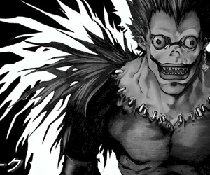 death note, anime, and ryuk image