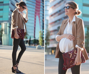 bag, blazer, and fashion image