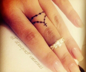 tattoo, fingers, and tatto image