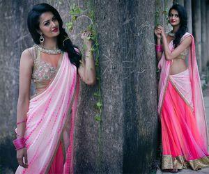 costumes, india, and saree image