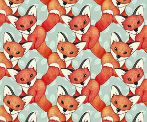background, fox, and wallpaper image