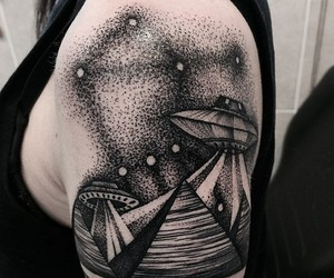alien, aliens, and tattoo image