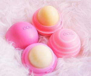 care, chapstick, and eos image