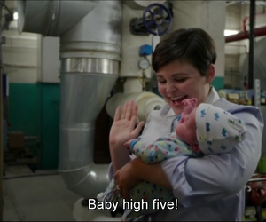 high five, neal, and once upon a time image