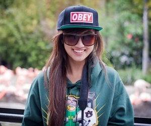 girl, obey, and smile image