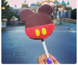 candy, disney, and chocolate image