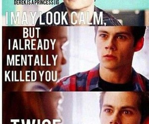 teen wolf, funny, and stiles image