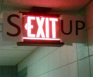 exit, fun, and sex image