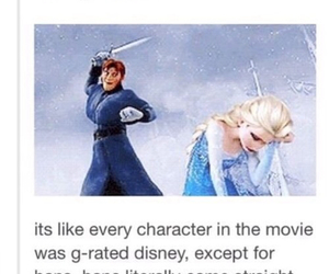 frozen, game of thrones, and funny image