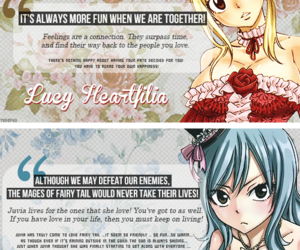 fairy tail and anime girl cute image