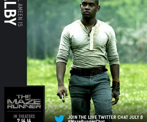 alby, the maze runner, and aml ameen image