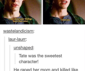 ahs, funny, and tate image