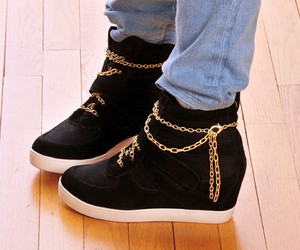 shoes and chains image