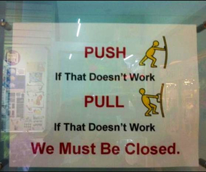 funny, push, and pull image