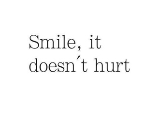 smile, quotes, and hurt image
