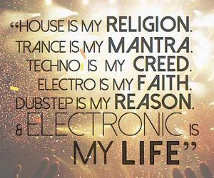 dance, electro, and music image