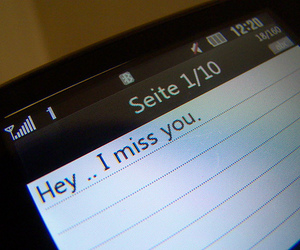 love, miss you, and text image
