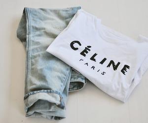 fashion, celine, and jeans image