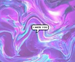 grunge, hate, and i hate you image