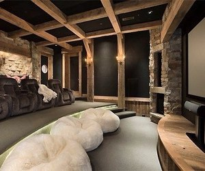 luxury, home, and cinema image