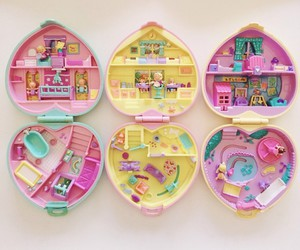 polly pocket, toys, and ✋ image