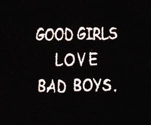 girl, love, and bad boys image