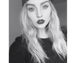 blackandwhite and perrie edwards image
