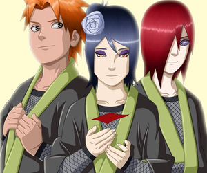 naruto, nagato, and yahiko image