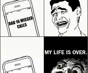 funny, mom, and dad image