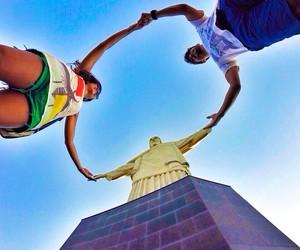 brasil, cristo redentor, and rio de janeiro image